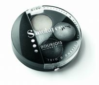 Genuine Bourjois Smokey Eyes Eyeshadow Trio 01 Gris Dandy Smoky Grey